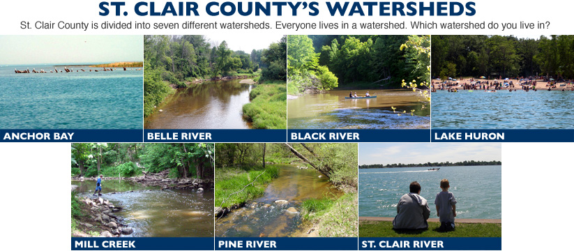 st clair county watersheds